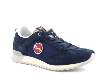 blå sneaker