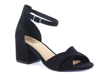 svart sandalett
